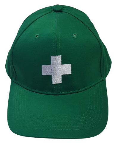 Warden Cap - Green First Aid