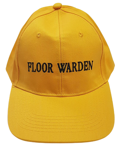 Yellow Floor Warden cap