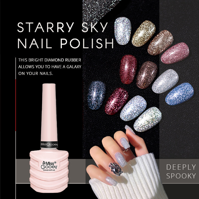 Starry Sky Nail Polish(50% OFF)