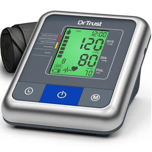 Dr Trust USA A-One Max Blood Pressure BP Monitor BP Testing