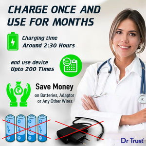 Dr Trust USA A-one Rechargeable Digital Blood Pressure BP Monitor
