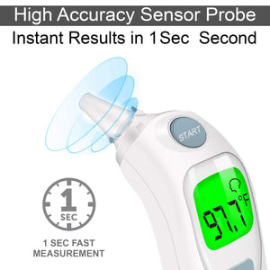 Dr Trust USA Instascan Infrared Forehead & Ear Thermometer 606 PRO