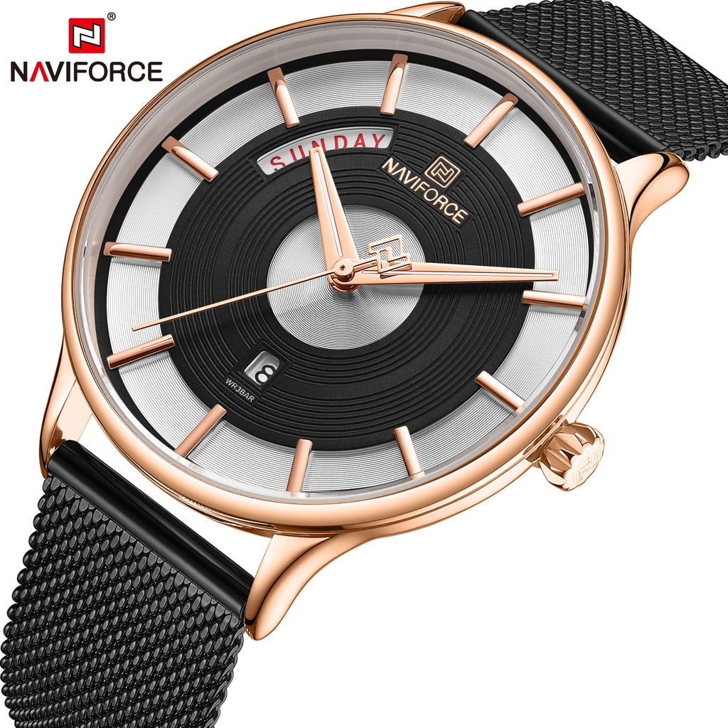 New Men Watch NAVIFORCE Luxury 2020