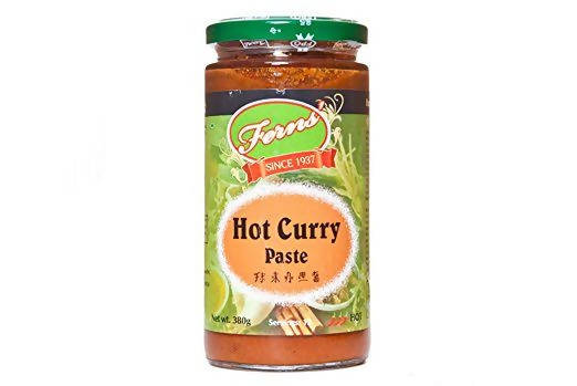 6 x 380g Ferns Hot Curry Paste