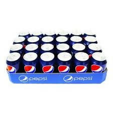 Pepsi Cola Case of 24 cans, 24x330ml