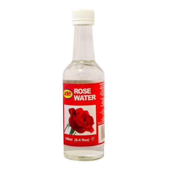 190ml KTC Pure Rose Water for Skin Cleansing, Toning, Moisturising, Face Fresh