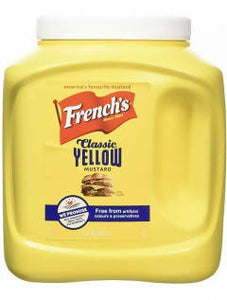 French's Classic American Yellow Mustard 2.9kg