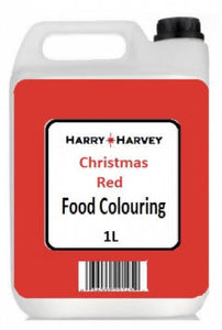 1L Harry Harvey Christmas Red Food Colouring, Colour