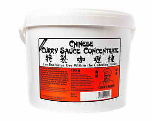 10kg Cooks Wing Yip Chinese Curry Sauce Concentrate