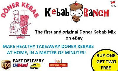 Takeaway Doner Kebab Gyro Donair Shawarma Spice Mix Seasoning BUY ONE GET 1