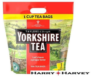 Yorkshire Tea One Cup - 600 Tea Bags