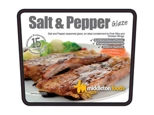 Salt & Pepper Meat Glaze & Marinade