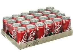 Coca Cola Case of 24 cans, 330ml Coke