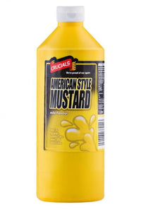1 Litre Crucials American Style Mustard