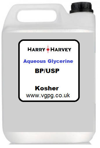 Aqueous Glycerine AG Vegetable Glycerol Glycerin Kosher Aqua VG AG