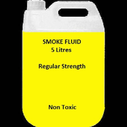 5 Litre DJ Smoke Fluid - Regular/Medium Strength - Yellow Liquid
