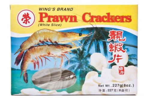 Wing's Brand PRAWN CRACKERS 227g