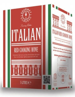 5L Classic Gourmet Italian Red Cooking Wine