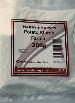 12 x 200g Potato Starch - Farina Flour
