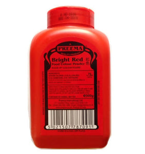Preema Bright Red Food Colouring Powder 500g
