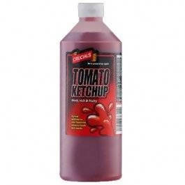 1 Litre Crucials Tomato Sauce Ketchup