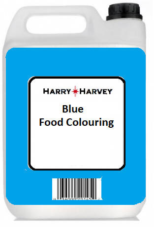 1L Harry Harvey Liquid Blue Food Colouring - 1 Litre - Everyday use