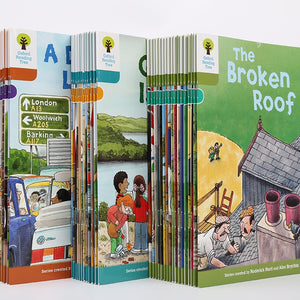 1 set 40 books 7-9 level Oxford reading tree Richer reading learing Helping Child to read Phonics English story Picture book