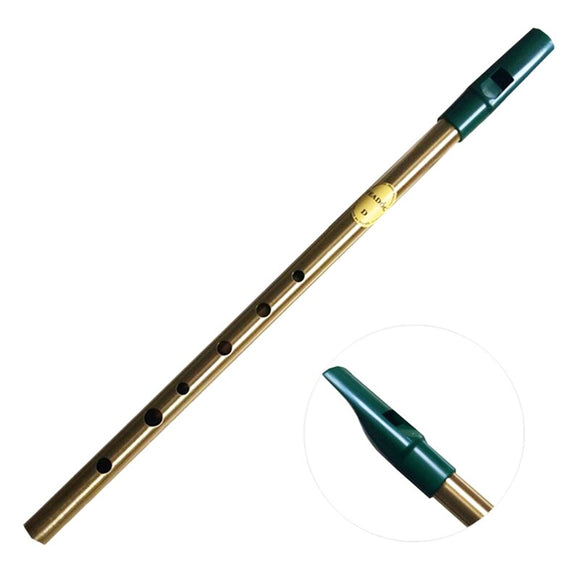 Irish Tin Whistle Irish Flute 6 Hole Clarinet Whistle Flute Nickel Plated Musical Instrument-C Key