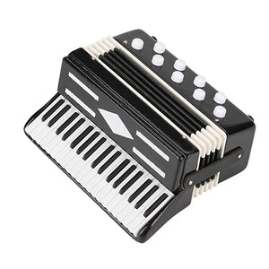 Miniature Accordion Mini Musical Instrument Accordion Exquisite Musical Instruments Holiday Decoration Music Gifts
