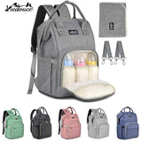 Viedouce thermal insulated baby changing bag baby diaper bag nappy backpack mother mom maternity bags with diaper urine pad