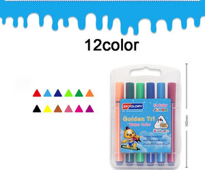 12/18/24/36 Color Watercolor Pen Set Washable Children Sketch Drawing Mark Painting Art Supplies