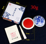 1 piece Chinese traditional Red Inkpad red ink paste used for seals in painting calligraphy Art supplies