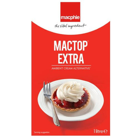 1 Litre Mactop® Extra Whipped cream