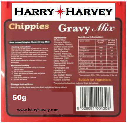Chip Shop Gravy Powder Mix