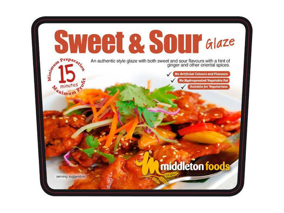 Sweet and Sour Meat Glaze & Marinade