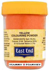 25g East End Egg Yellow Food Colouring