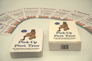 Pick-Up Poet Tree (Playing Card Game)