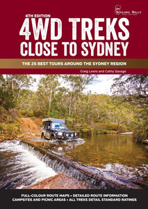 4WD Treks Close To Sydney 6/e - A4 Spiral Bound The 25 Best Tours Around the Sydney Region