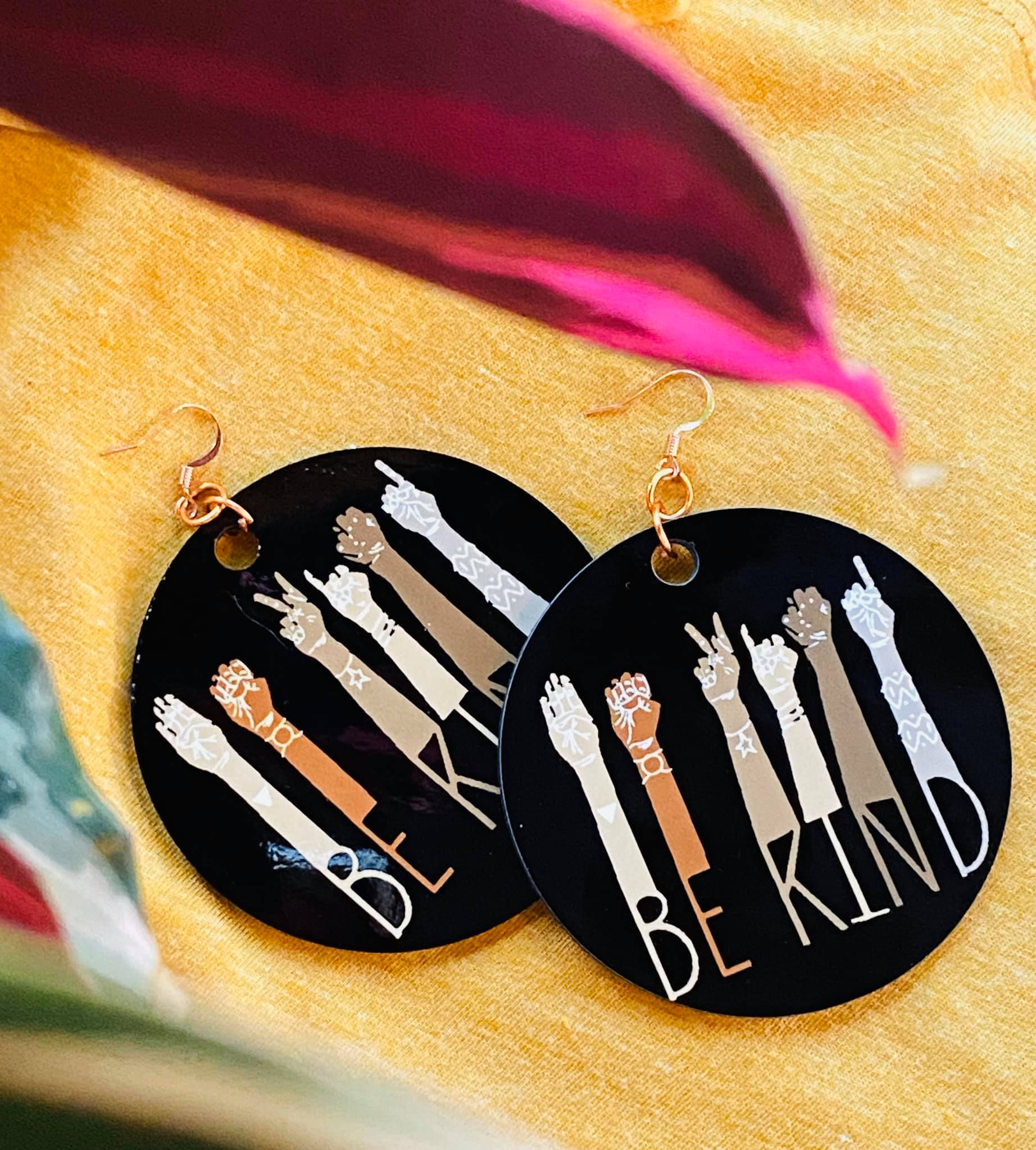 """Be Kind"" Earrings"
