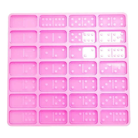 Silicone Double Wall Domino Mold RTS from California