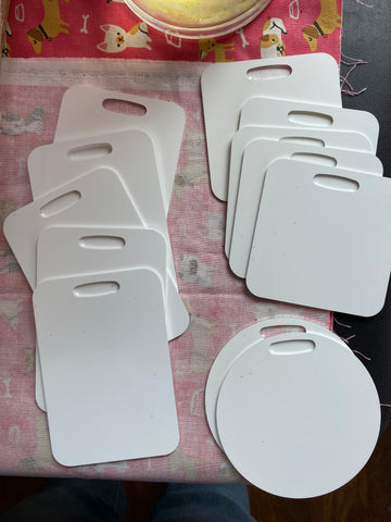 Sublimation Luggage Tags