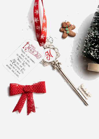 Santa's Magic Key / Personalized Ornament / Quarantine Christmas / Kids Christmas Magic