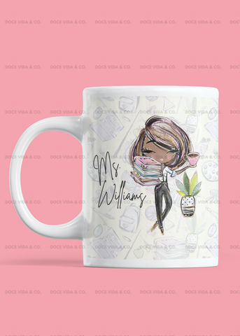Miss Teacher Lady Mug