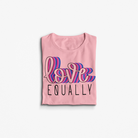 LOVE Equally Crop Top Tee
