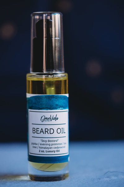 """Sexy Bastard"" Beard Oil"