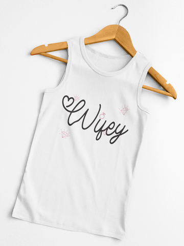 Wifey Diamonds Tank