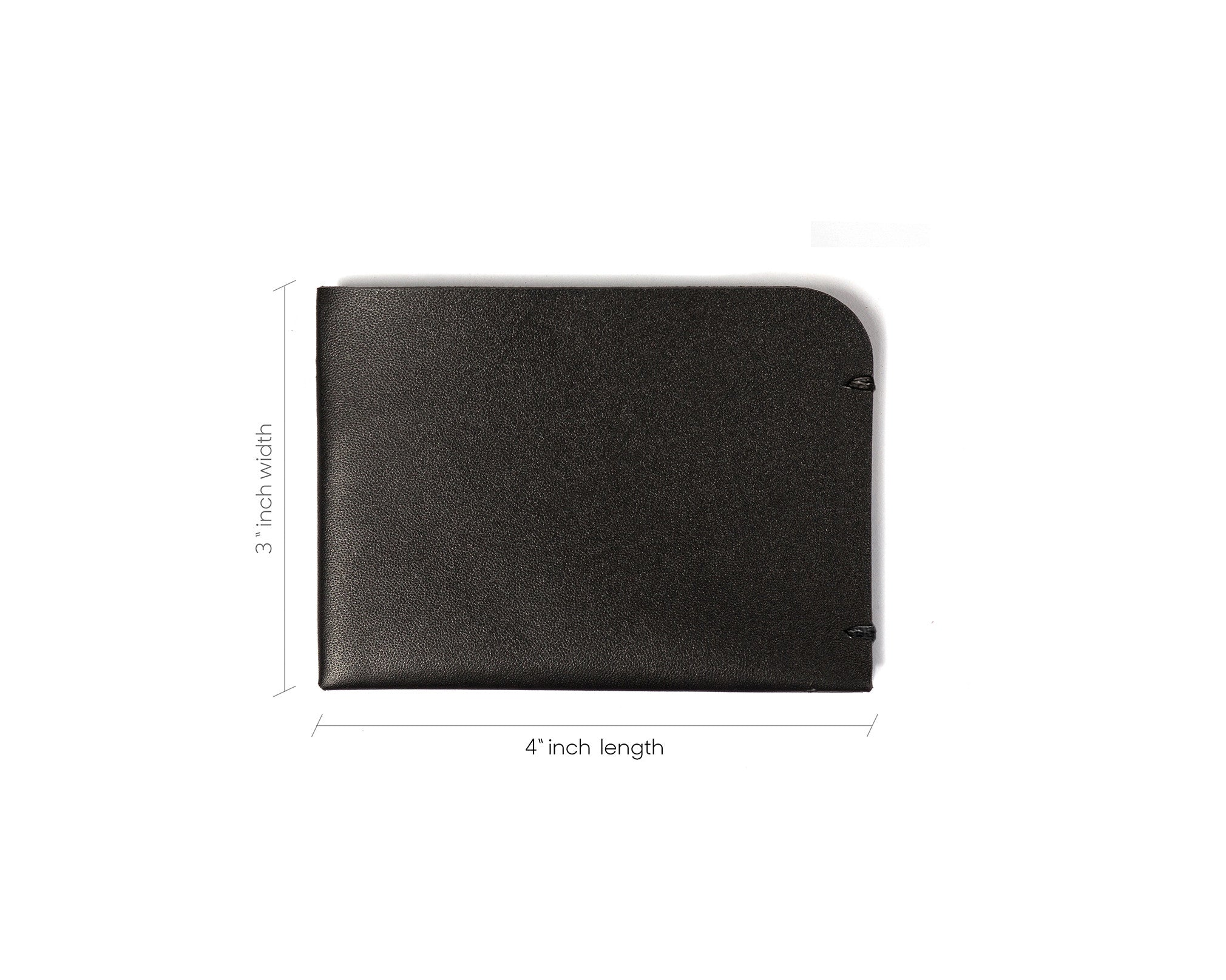 simple black wallet