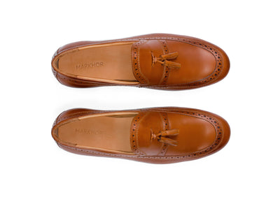 Borla Loafer (Tan)