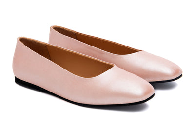 Ballerina Flats (Rose Gold)