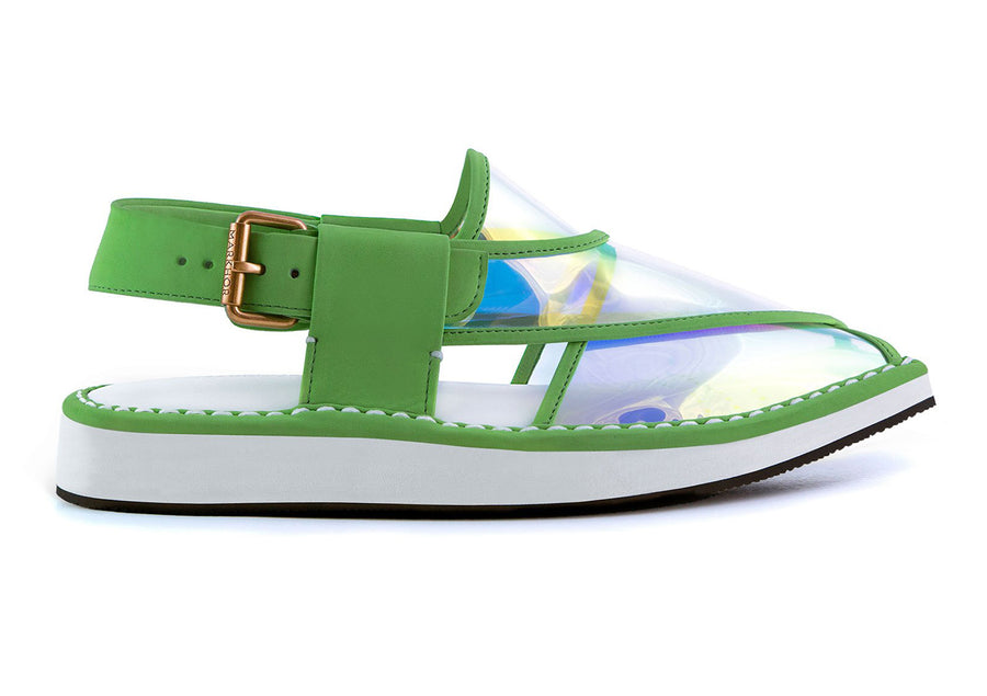 Reflexion Sandals (Green - Orange)